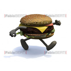burger that runs