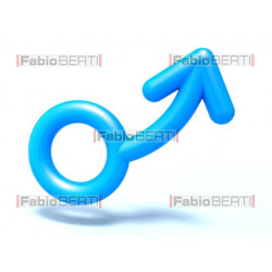 man symbol up