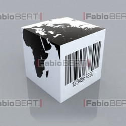 dice with barcode 2