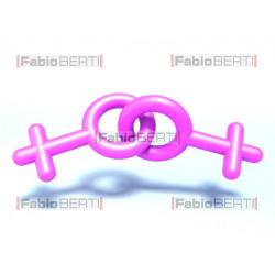 homosexual female symbol