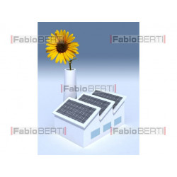 factory solar panels sunflower