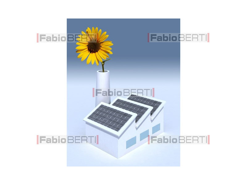 solar panels industry sunflower