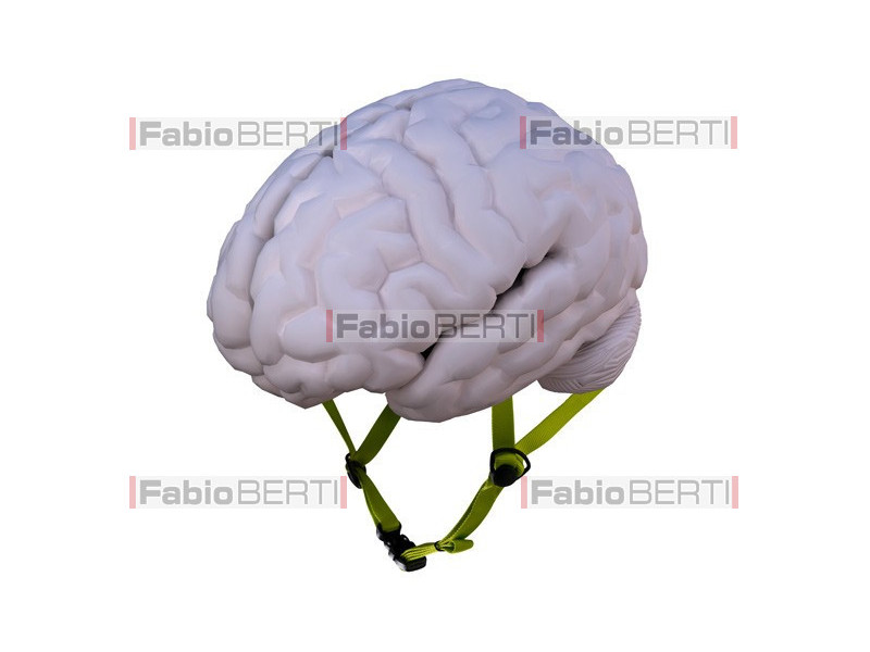 cervello casco