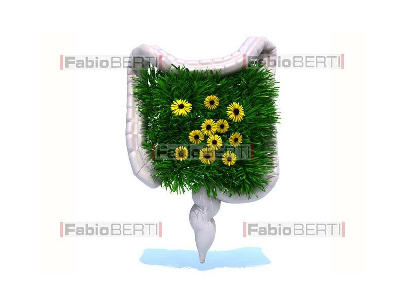 green intestine