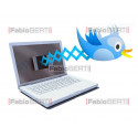 concetto twitter notebook