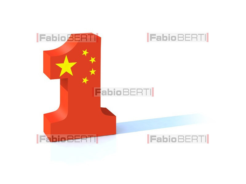 number one China
