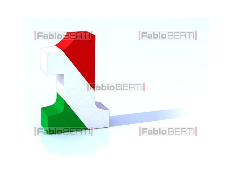 numero uno Italia