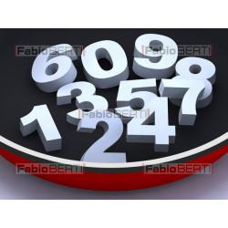 padella con numeri