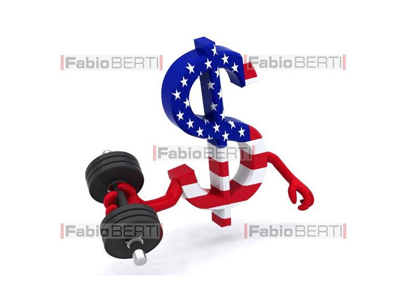 dollar symbol weight training