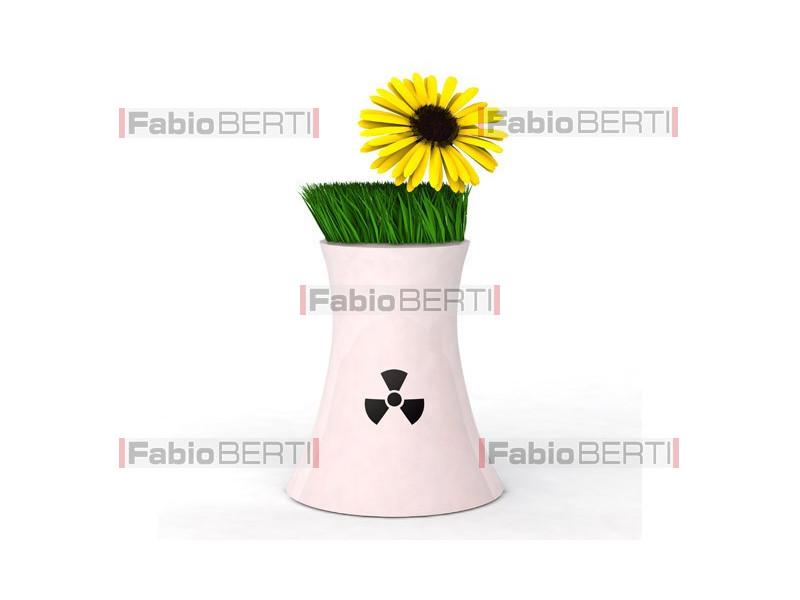 nucleare porta fiore