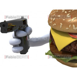 gun in the sandwich