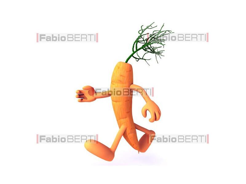 a carrot that runs