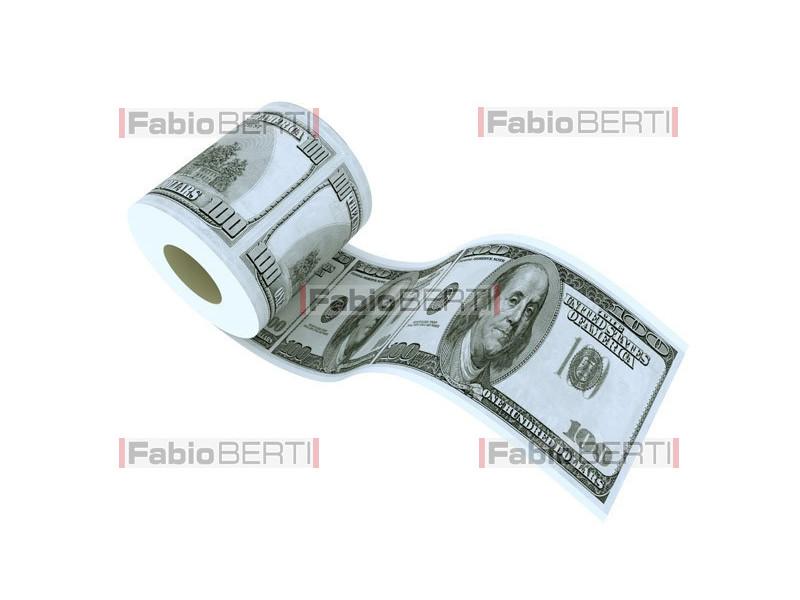 carta igienica dollaro