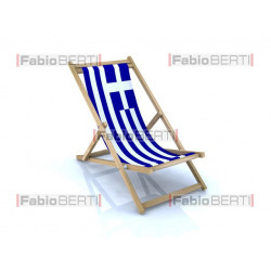 beach chair Greece