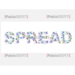 scritta spread euro