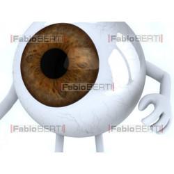occhio con tavola ottometrica