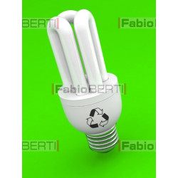 low-energy fluorescent light bulb