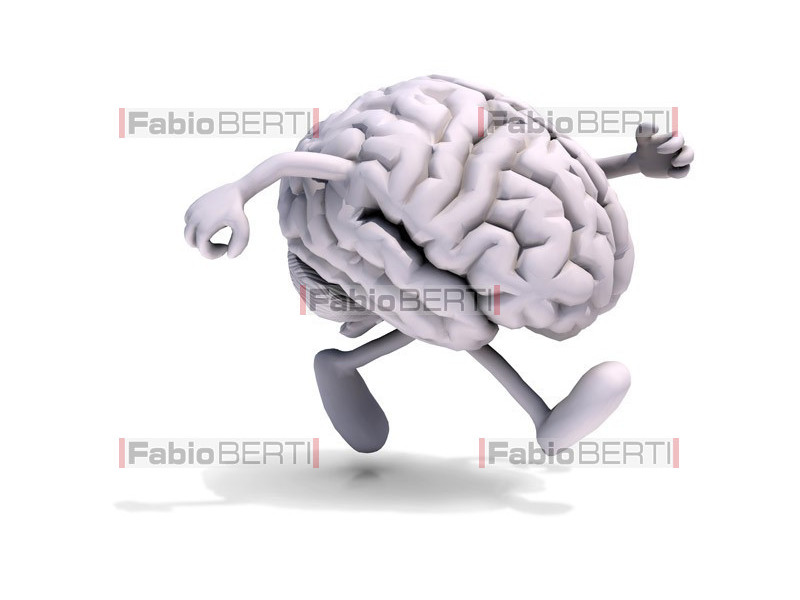 cervello jogging