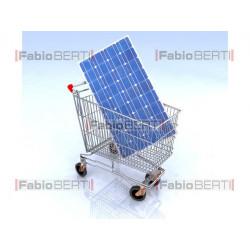 carrello fotovoltaico