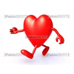 cuore che cammina