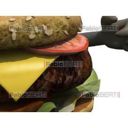 burger that runs