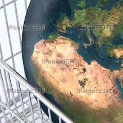 il mondo sul carrello
