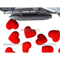 aereo lancia cuori