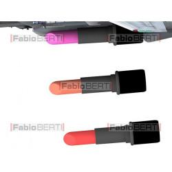 airplane launching lipstick