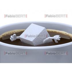 zollette di zucchero felici