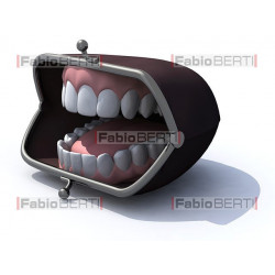 denture on wallet