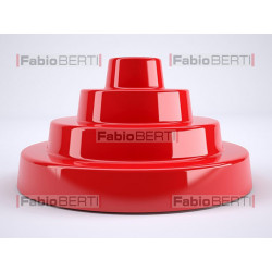 red plastic object