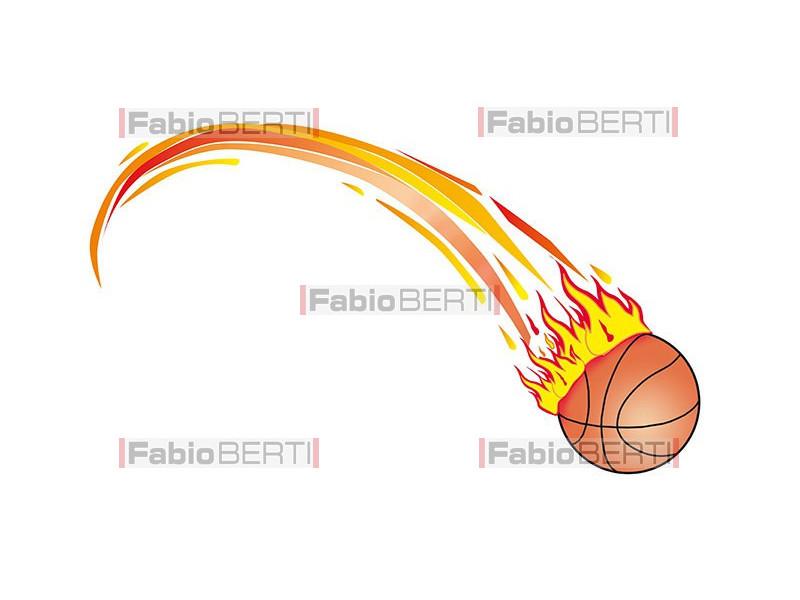 fast basketball fire