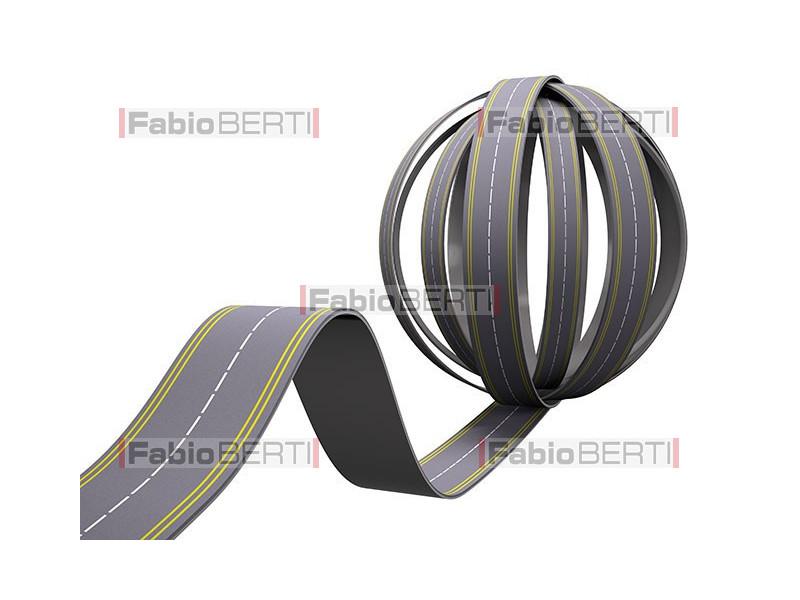 road braided ball