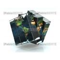 world on a cube