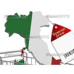 Italia in vendita
