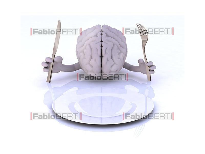 cervello e piatto