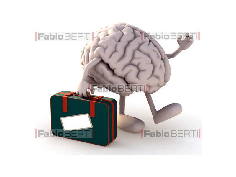 a brain departing