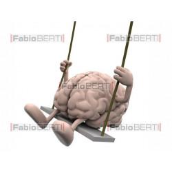 brain on a swing