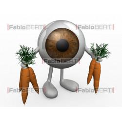 occhio con carote