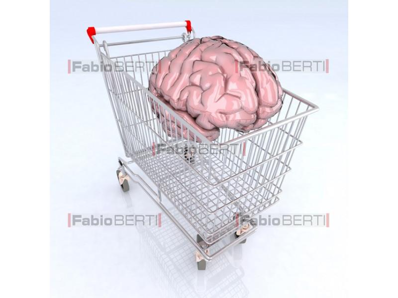 carrello con cervello