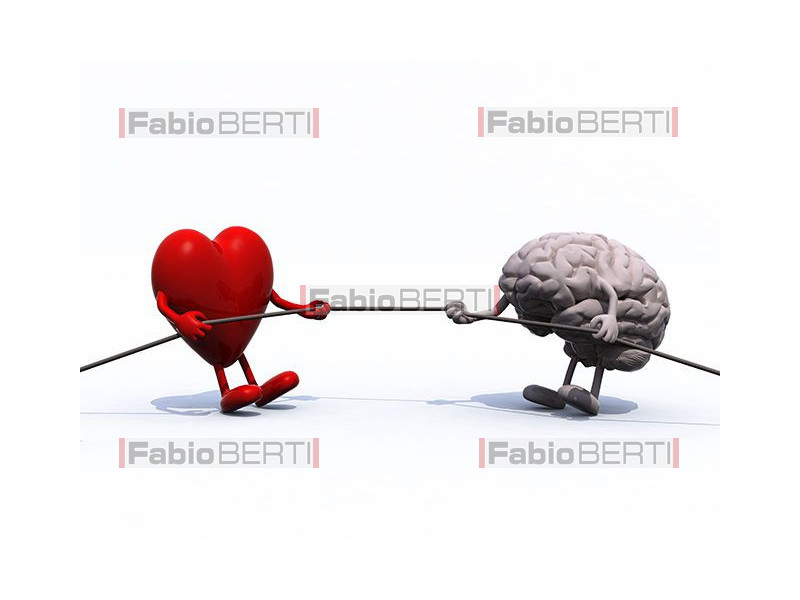 heart and brain tug of war