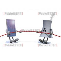 solare vs nucleare
