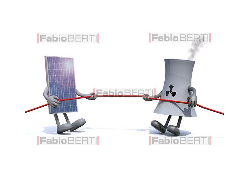 solar vs nuclear