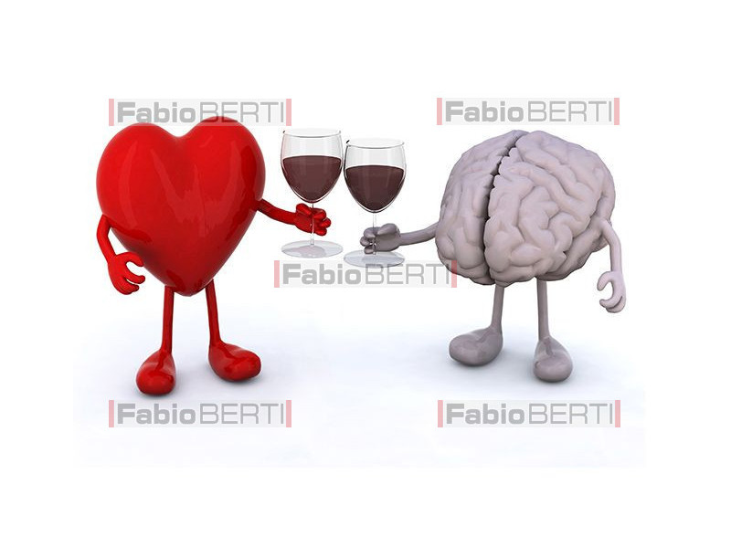 heart and brain toasting