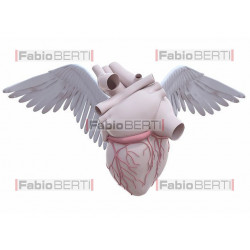heart with wings 2