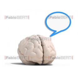 cervello fumetto