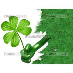 irlanda verde