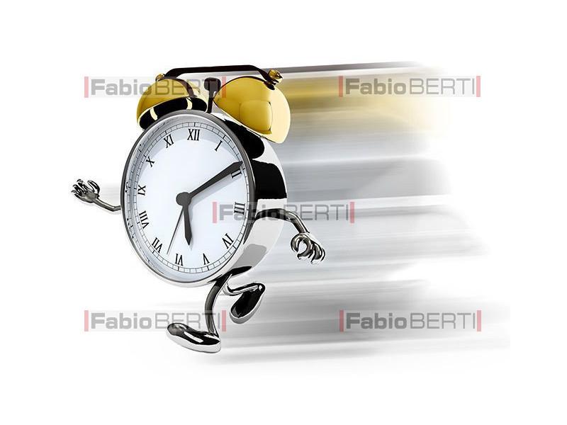 alarm clock that runs