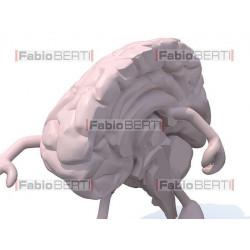 cervello a metà cammina