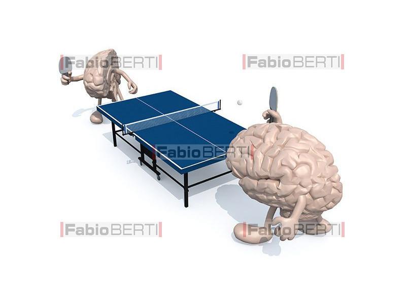 half brains ping pong